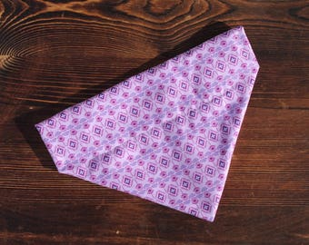 Pretty Purple Bandana