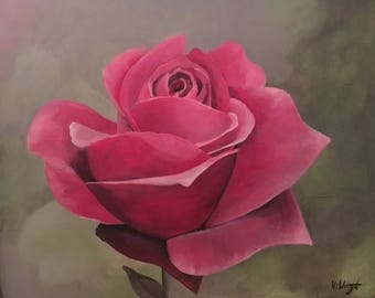 Original Rose Painting on canvas
