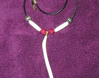 Raccoon Bone, (Baculum) - Necklace