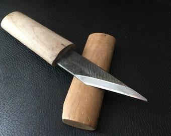 Vintage japanese knife kiridashi