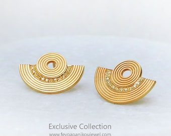 Tiny Amphitheater Earrings