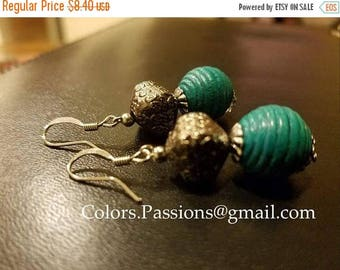 ON SALE Vintage dangling earring,boho,trendy,indian,christmas stocking,gift