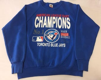 1989 Toronto Blue Jays AL East Champions Sweater