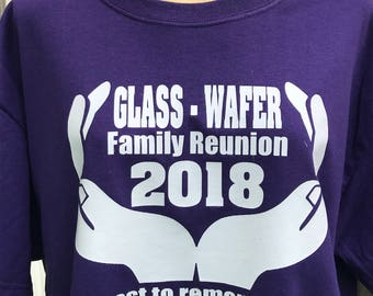 KIDS Glass/Wafer 2018 Family Reunion Tees