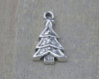 Pine Tree Charm Etsy - Christmas Tree Charms