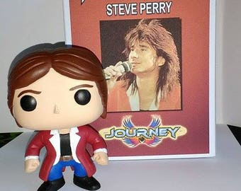 Custom Steve Perry (Journey) Funko Pop