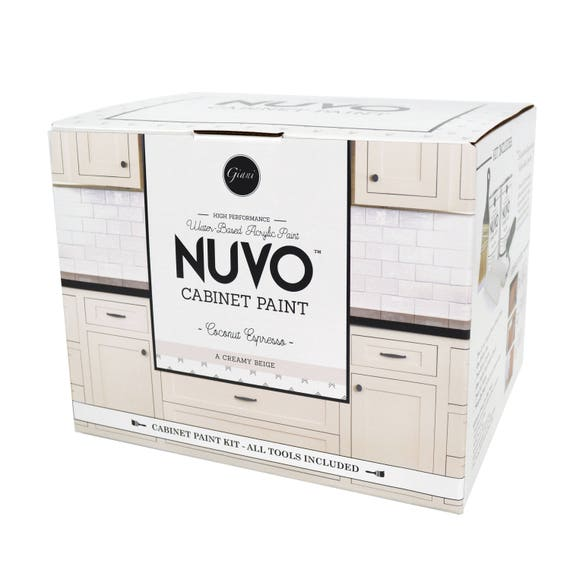Paint Kits For Kitchen Cabinets: Nuvo Coconut Espresso Cabinet Paint Kit