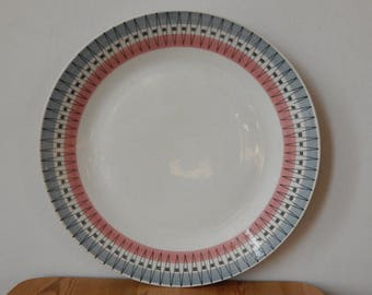 Scandinavian Vintage Gefle POLAR Plate Ceramic Dinner Plate
