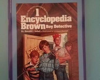 Encyclopedia Brown Boy Detective Paperback 1988