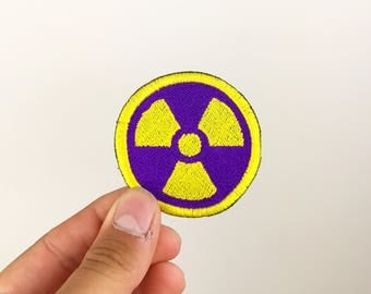 Nuclear embroidered patch