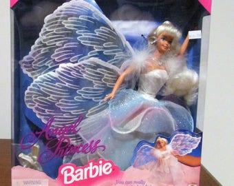 Vintage Mattel 1994 Angel Princess Barbie - #15911 - NIB