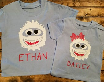 Rudolph's Abominable Snowman Bumble Christmas Personalized Shirt Great Gift