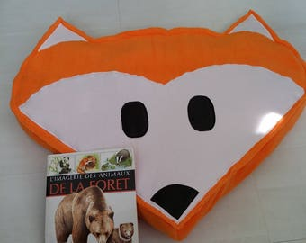 "Floor cushion ""Fox"" large format"