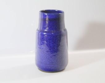 Amazing vase, bottles shaped by Böttger Keramik Werkstätten - blue BKW, WGP, West German Pottery