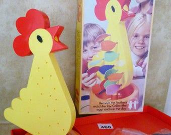 EGGO Childrens Game Vintage 60s/70s Similar to Kerplunk