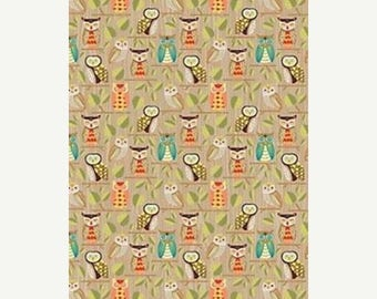 50% OFF Owl Wrapping Paper