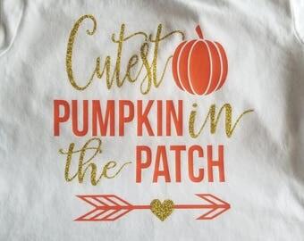 Cutest pumpkin in the patch shirt