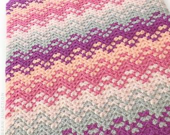 Confetti Waves Crochet Pattern