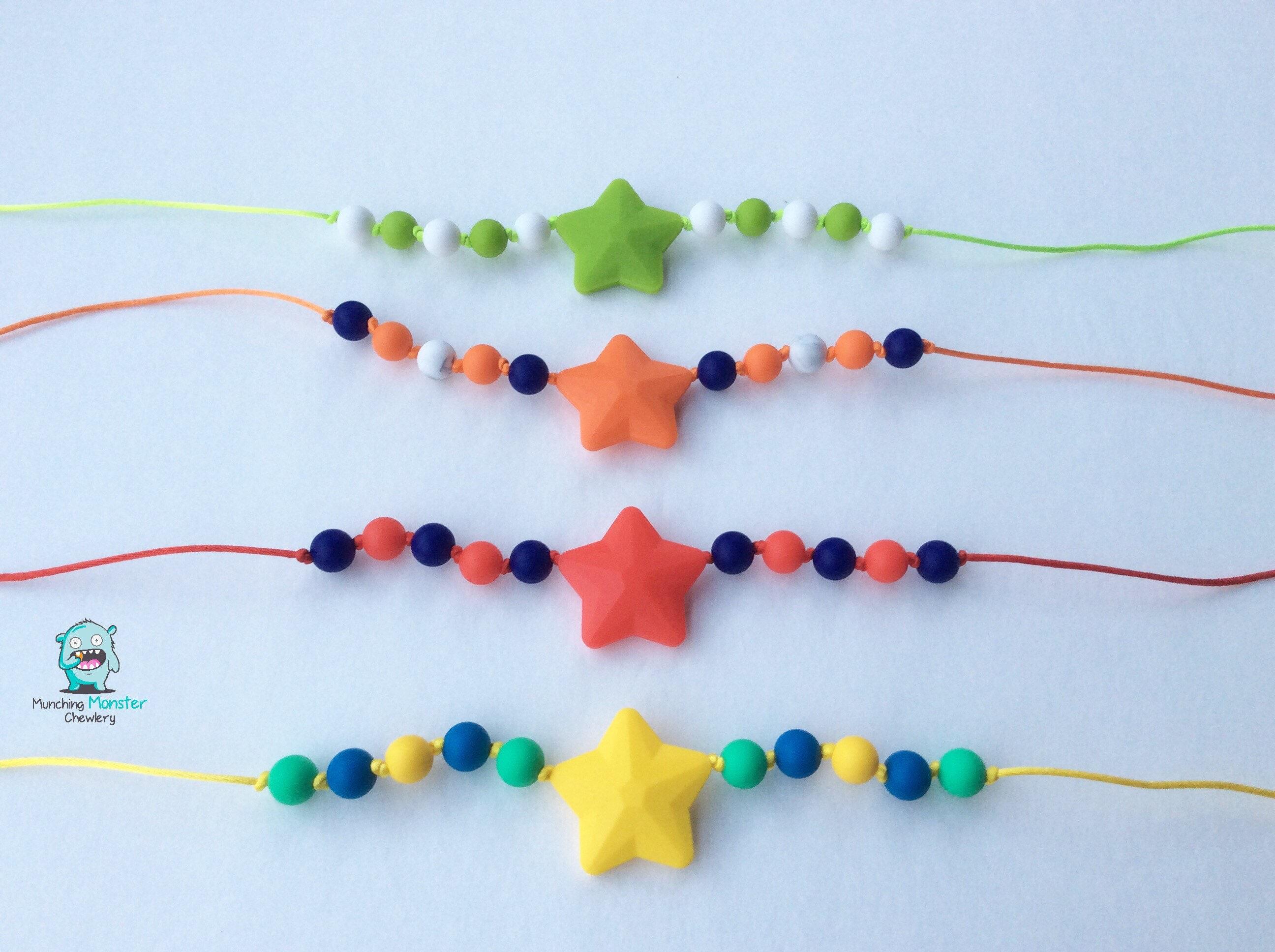 Star Child s Necklace chewable necklace sensory necklace ASD