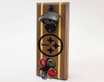 Pittsburgh Steelers Magnetic Bottle Opener