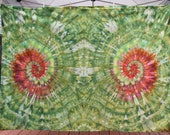 Dragon's Eyes Ice Tie Dyed 3D Tapestry, Psychedelic Hippie Wall Hanging, Beach or Festival Blanket