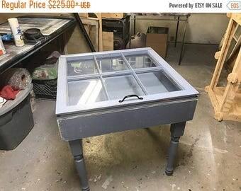 Shadow box coffee table Etsy