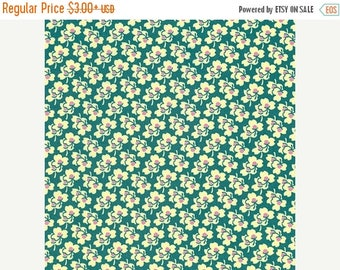 Sale Pansies in Ivory from the Eternal Sunshine Collection by Amy Butler - Cotton Quilting Fabric