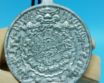 meteorite seymchan pendant Jiugong nature nickel jewelry iron amulet gift 71gm S232
