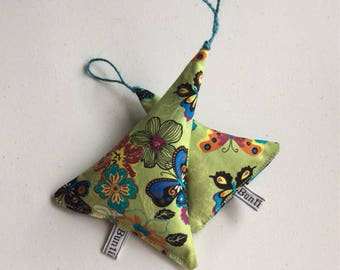 Butterfly lavender hanging teepee
