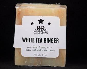 White Tea and Ginger Homemade Soap