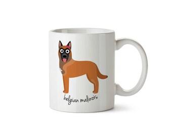 Belgian Malinois Mug (girl)