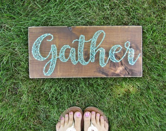 Gather String Art *Made-to-Order*