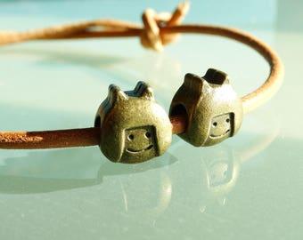 Lesbian love jewelry lesbian couple gift leather bracelet girlfriends lgbt jewelry feminist gift lgbt bracelet adjustable size S M L XL