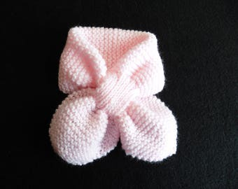 SCARF BABY PINK 0 / 3 MONTHS