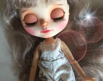 "For adoption: anticipate ""Adeline""Blythe custom by WowJoBlythe"