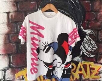 Minnie Mouse Allover Print Tshirt