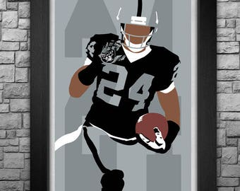 CHARLES WOODSON minimalism style limited edition art print. Choose from 3 sizes!