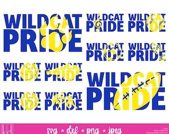 10 Wildcat Pride SVG Bundle   Wildcat svg   High School Spirit   Band, Baseball, Basketball, Track, Football, Soccer, Volleyball, Wrestling