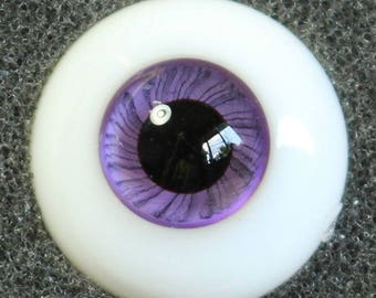 Purple  Martin - Handmade Violet BJD Glass Eyes (B04) | 12mm, 14mm, 16mm, 18mm