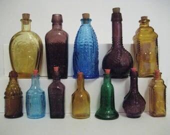 12 Miniature Bottles