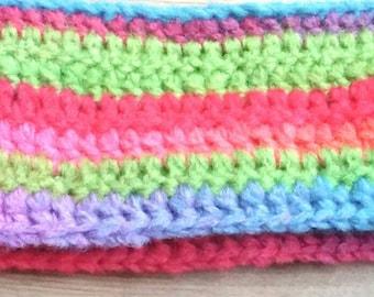 Rainbow 'easy tie' Scarf