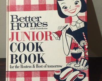 1963 Better Homes and Gardens JUNIOR Cook Book