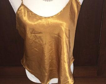 M/California Dynasty/ Gold Chemise/Medium