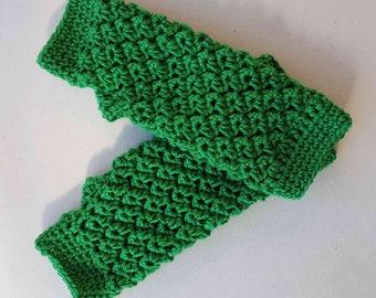 Fingerless Gloves, Gloves, Crochet Gloves, Womens Gloves, Green Gloves, Hand Warmers