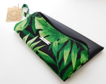 Travel Pouch // Clutch // Cosmetic Bag // True Leaf Collection // Clair-Ashley