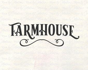 Farmhouse svg, farmhouse sign svg, farmhouse decor, farmhouse svg files, decor svg, rustic svg, rustic svg files, farmhouse cut files