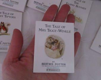 Miniature Set of Twelve Beatrix Potter Books by Beatrix Potter Books F.Warne & Co (1991)
