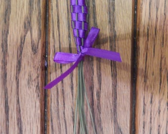 Purple Lavender Wand; all-natural; herbal gift; gift for her; fragrance; herbal scent; wedding favor; tea party favor