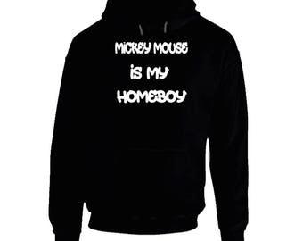 Mickey Mouse Black Hoodie