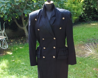 Black dress - Roberto PIU key-1980 - size: 44
